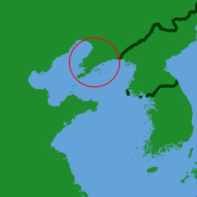 La péninsule du Liaodong - Wikicommons