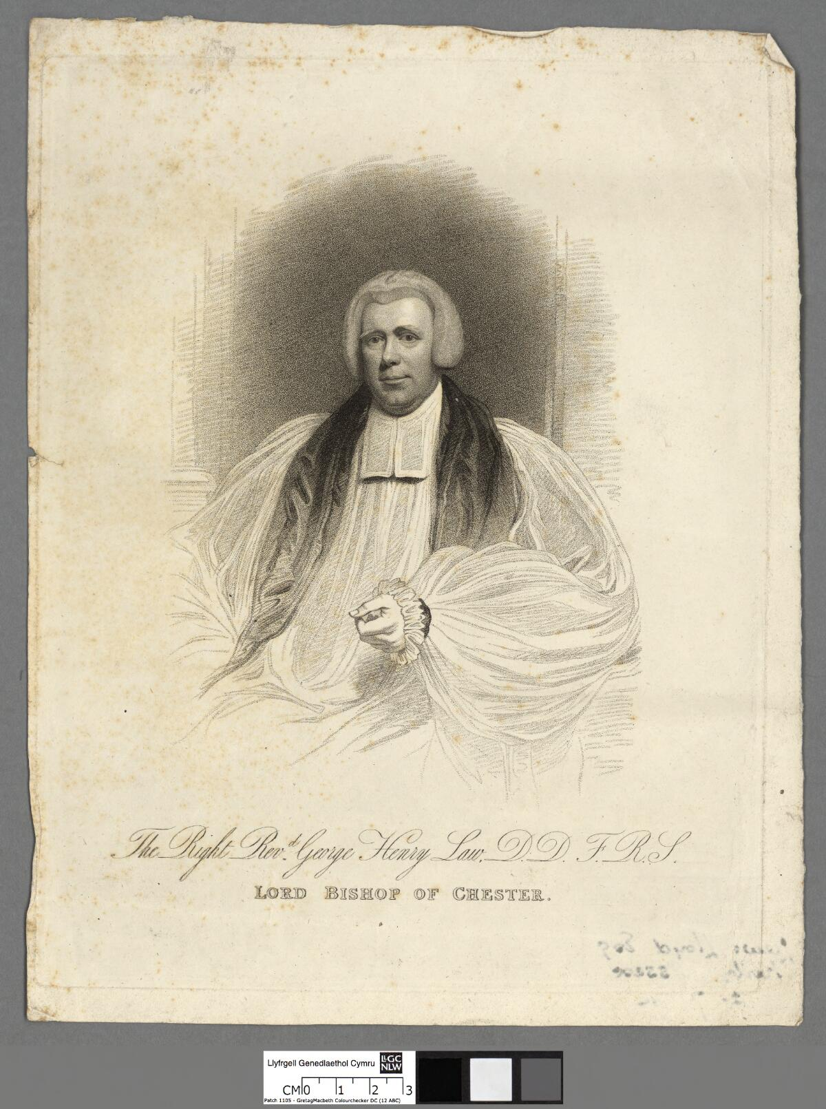 File Portrait Of The Right Revd George Henry Law D D F