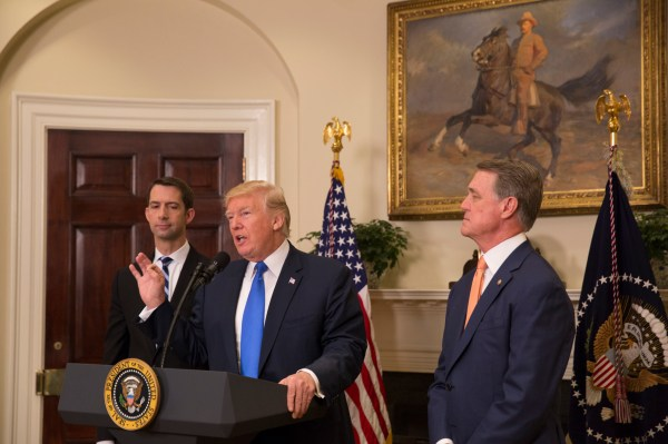 File:President Donald J. Trump, Senator Tom Cotton, and ...