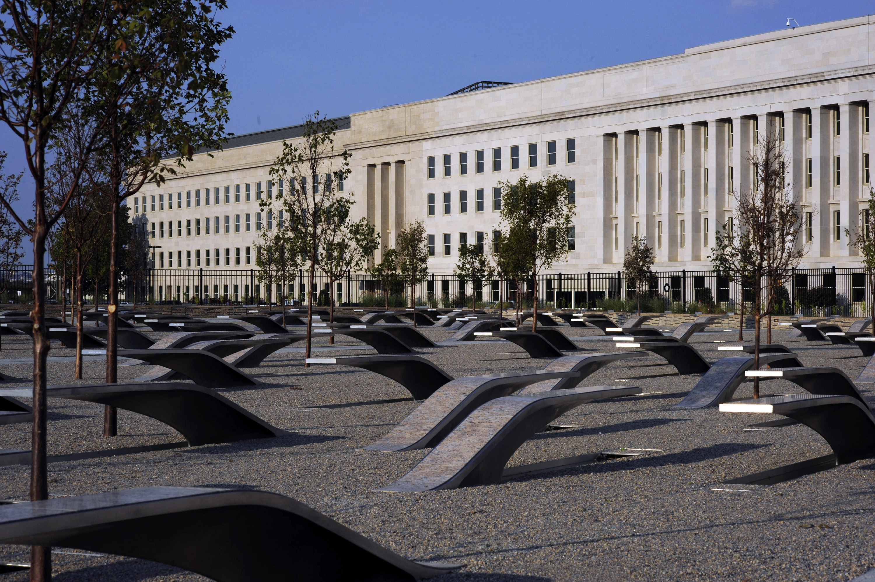 Image result for The Pentagon 9/11 memorial
