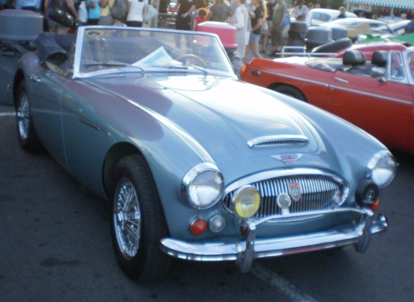1964 austin cars » Austin Healey 3000   Wikipedia BJ8 sports convertible edit