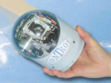 English: A payload surveillance camera made by...