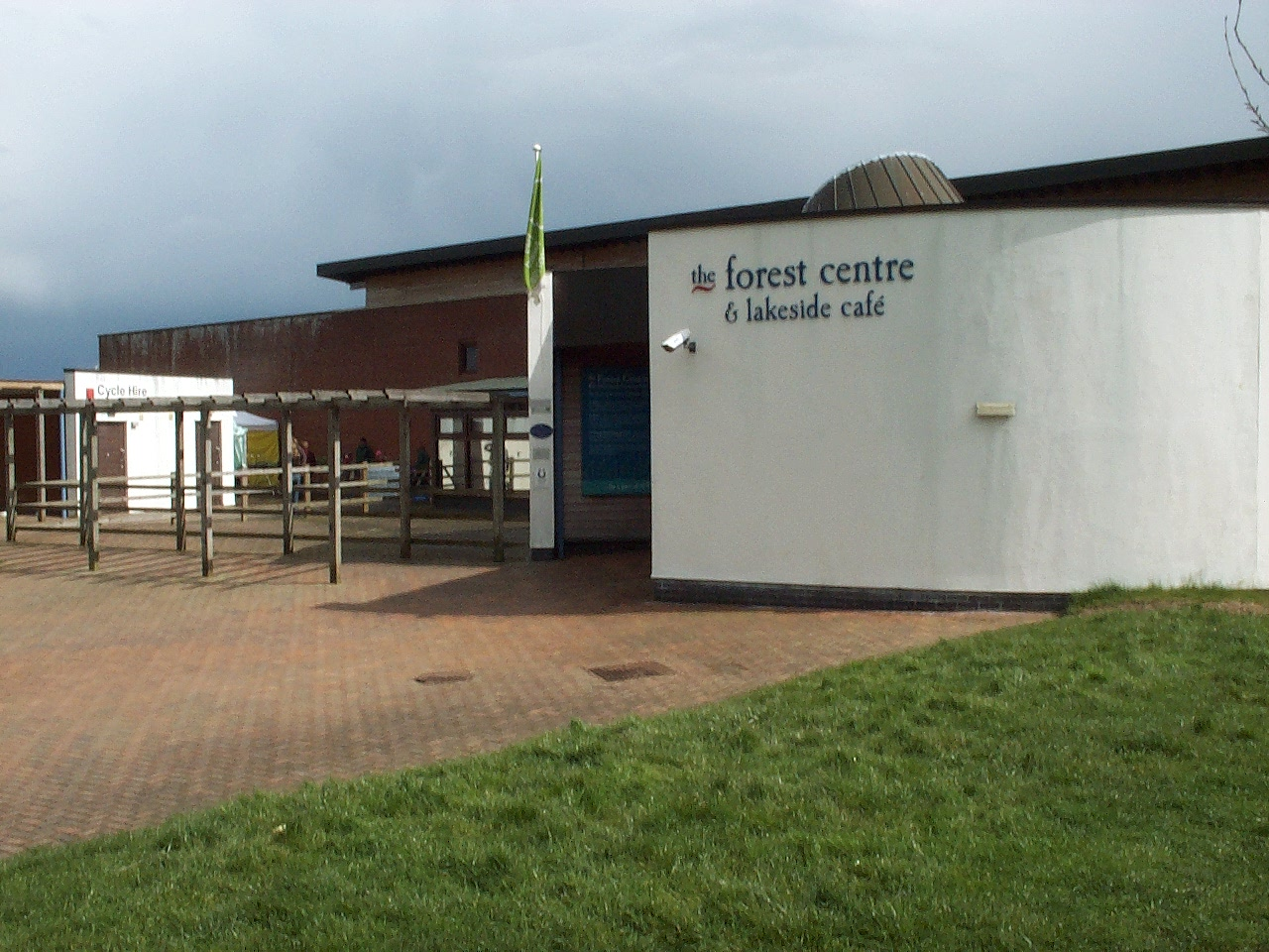 The Marston Vale Forest Centre. This is the vi...
