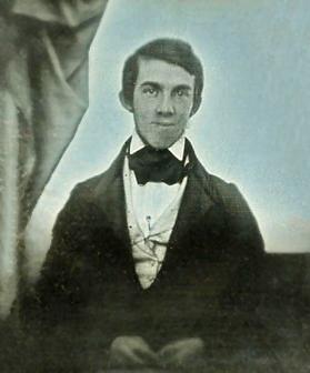 Daguerreotype of Oliver Wendell Holmes Sr., 1841