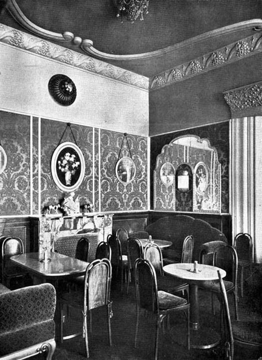 Wien-Café-Herrenhof-(1914), Damensalon