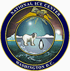 English: Emblem of the National Ice Center, a ...