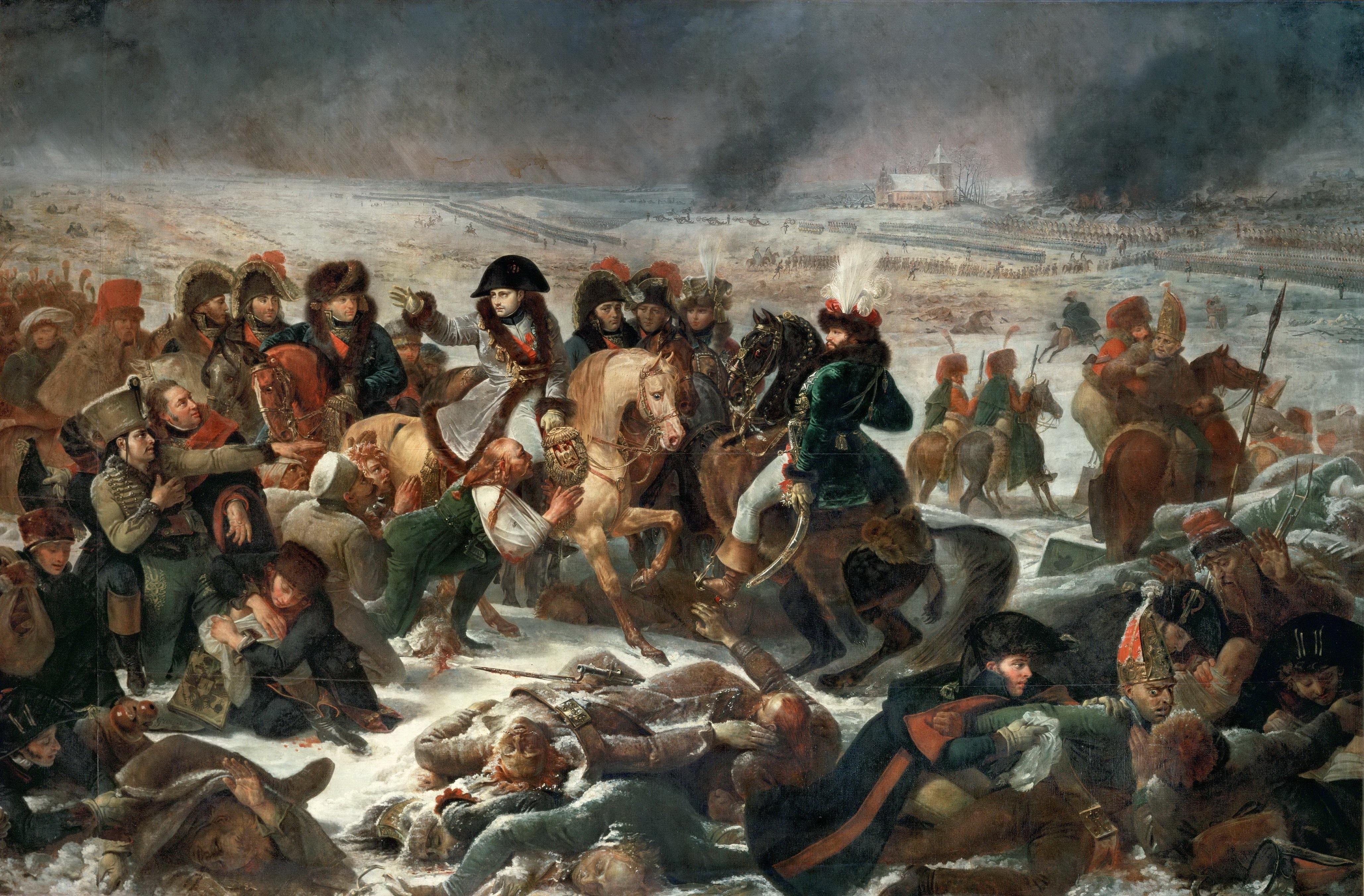 Napoleón general victorioso