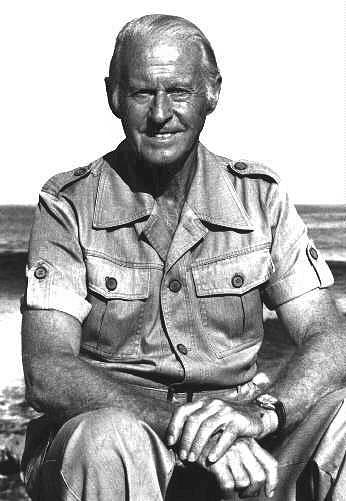 Portrait of Thor Heyerdahl