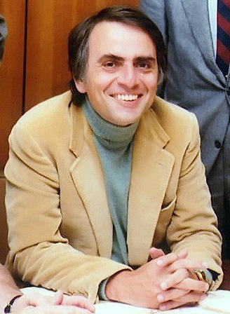 Carl Sagan in 1980