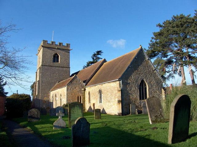 Eckington Church in Winter sunshine Eckington Church in winter sunshine