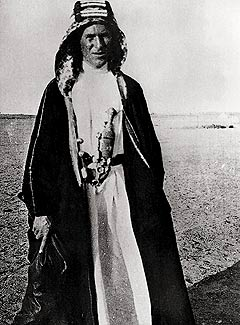 T.E. Lawrence (also known as Lawrence of Arabi...