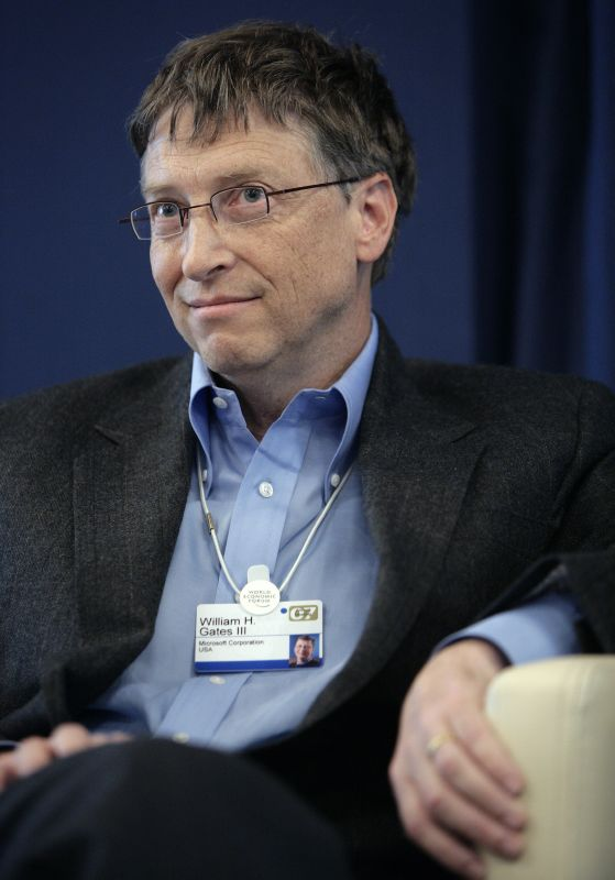 Bill Gates (Courtesy of Wikipedia)