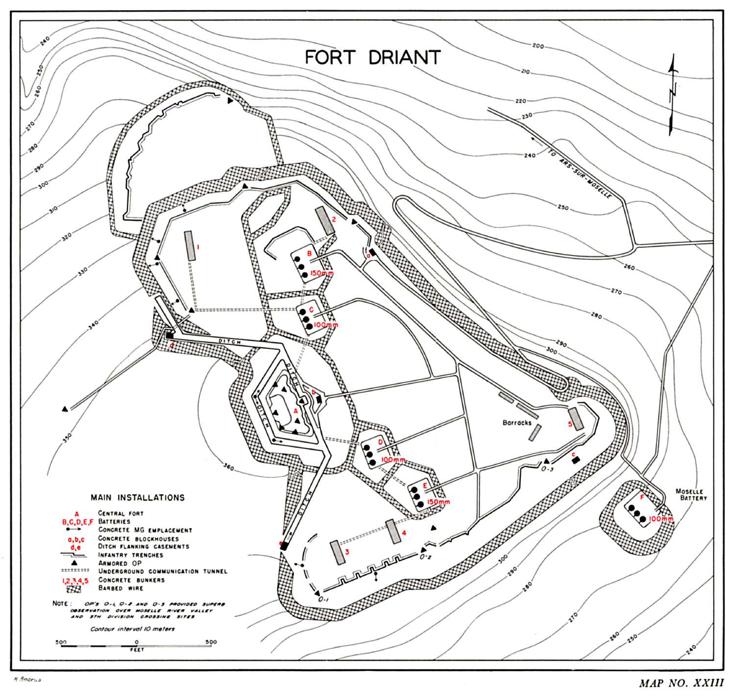 Fichier Map Of Driant