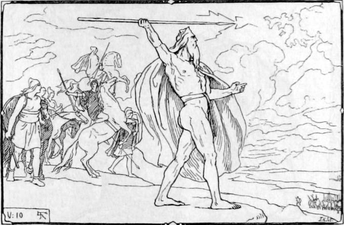 Æsir-Vanir war by Frølich.jpg