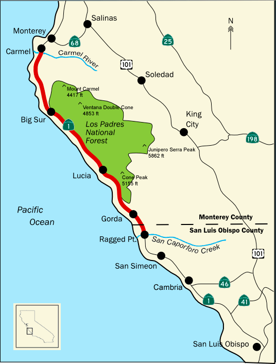 Salinas Valley Geography