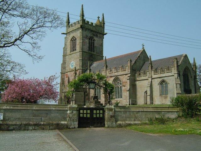 St John the Baptist parish church, Ightfield, Shropshire