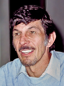 Leonard Nimoy appearing at a science fiction c...