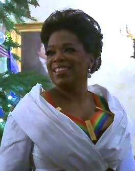 Oprah Winfrey at the White House for the 2010 ...