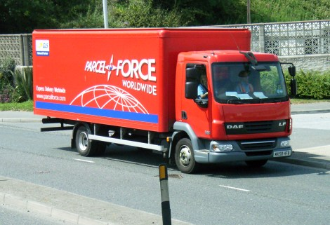 Image result for parcelforce