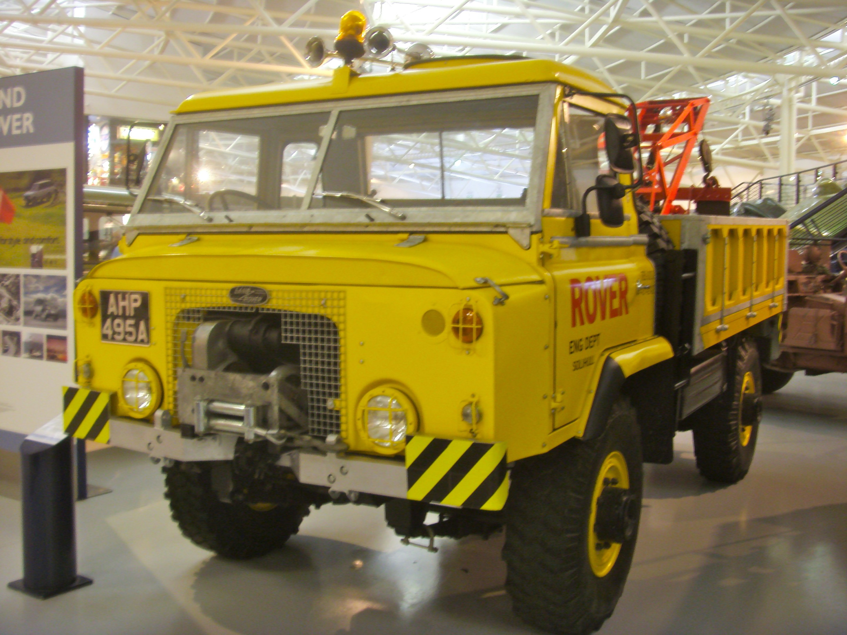 File 1963 Land Rover 112 Recovery Wagon Heritage Motor Centre