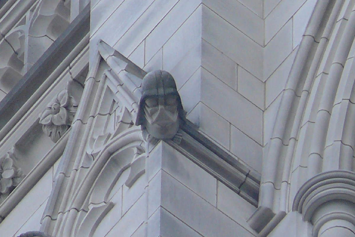 Дарт Вейдер на Вашингтонском кафедральном соборе | LookAtAmerica.com - Большое Американское путешествие LookAtIsrael.com