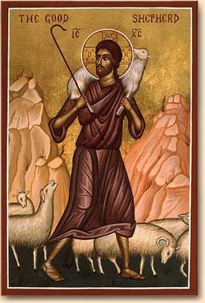 English: Icon of Good Shepherd