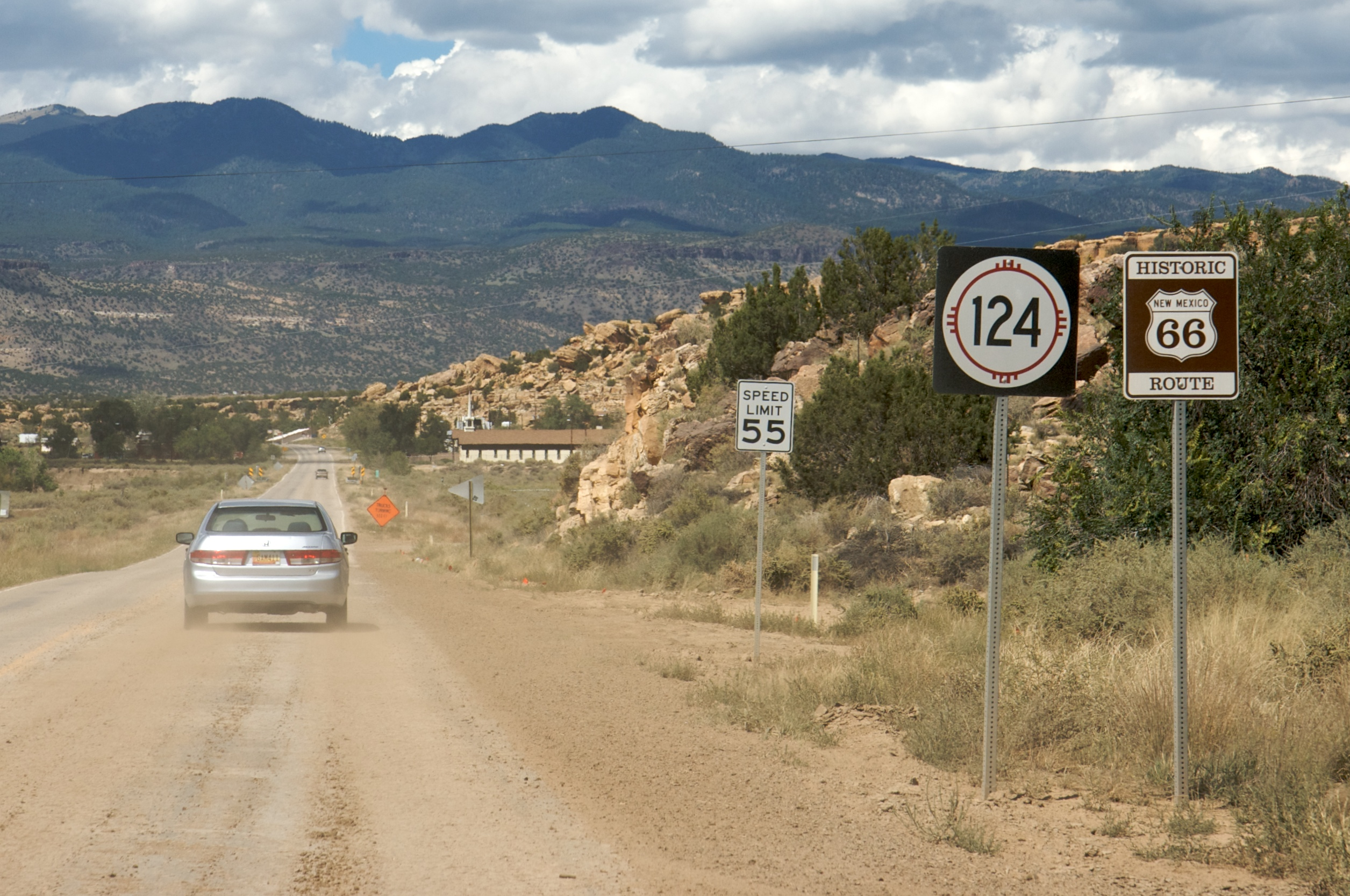Advertisement new mexico roads map Full
