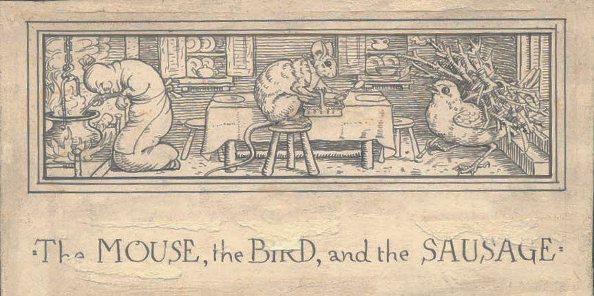 "English: Illustration of ""The Mouse the B..."