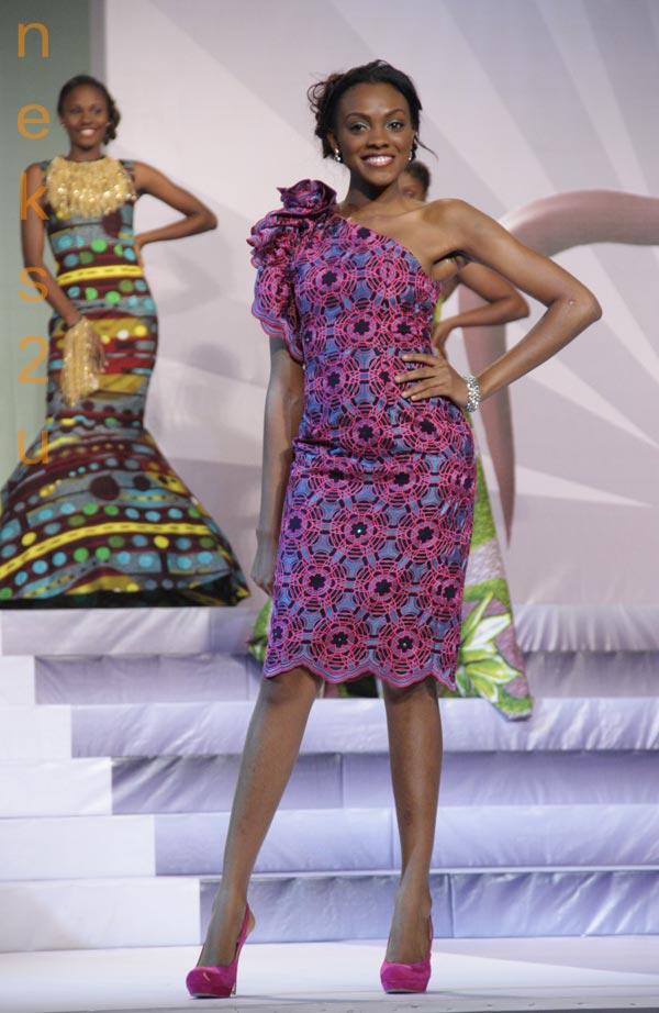 african straight dresses for young women