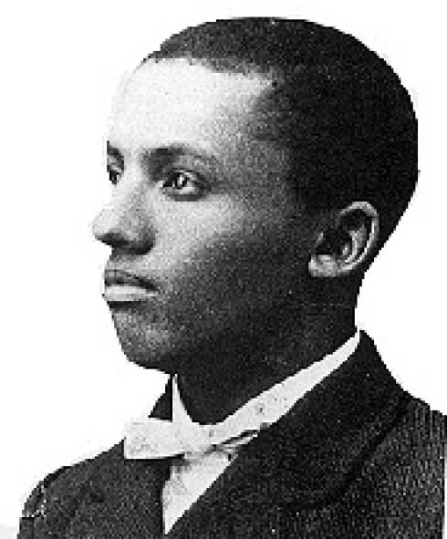 English: Portrait of African-American historia...