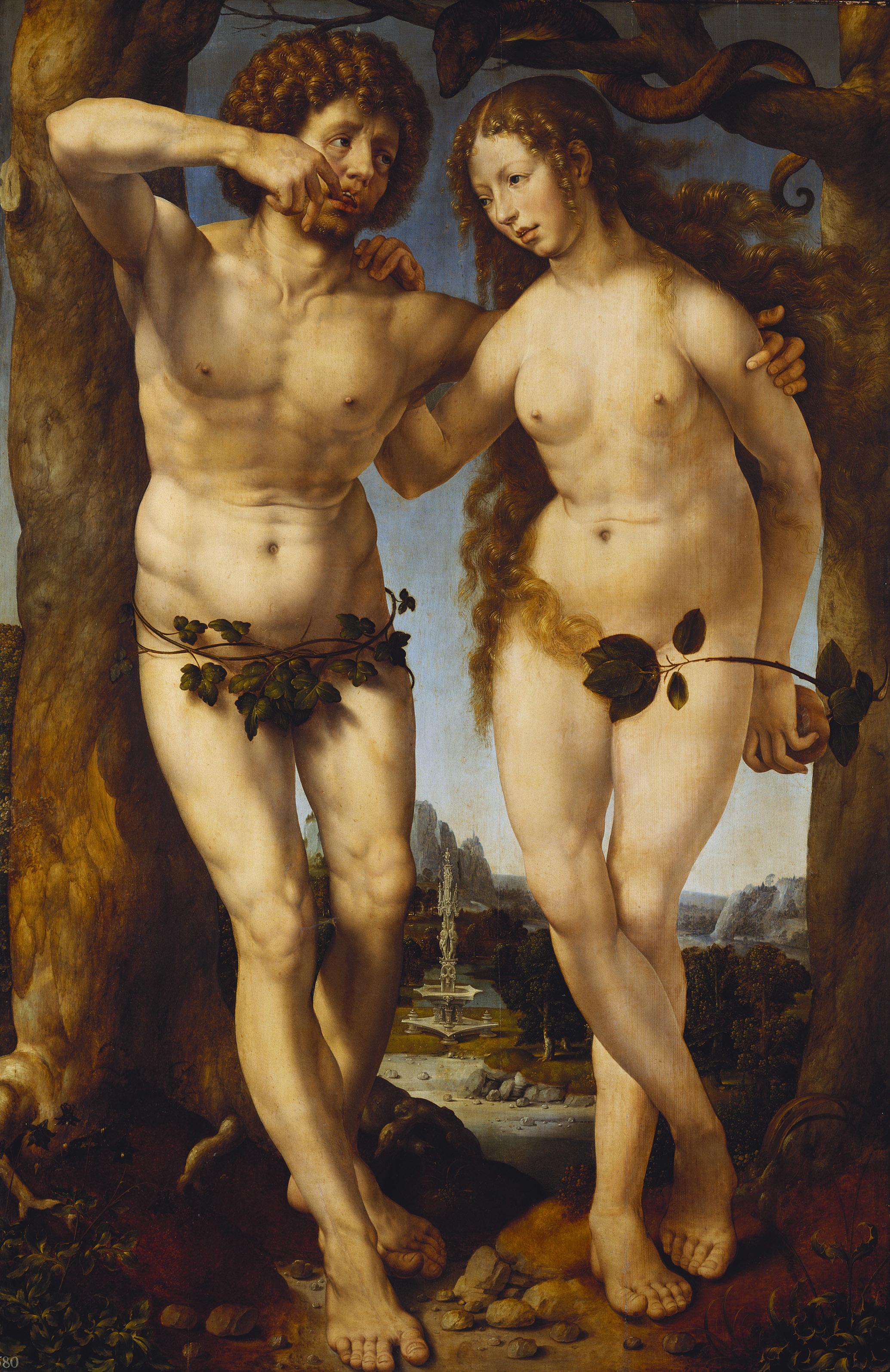 Jan Gossaert - Adam and Eve - WGA09775