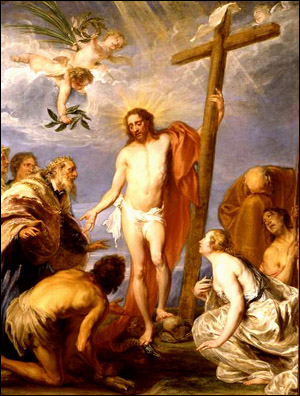 The Triumphant Christ Forgiving Repentant Sinn...