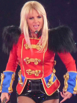 Spears in london