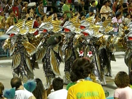 Samba school... of fish!