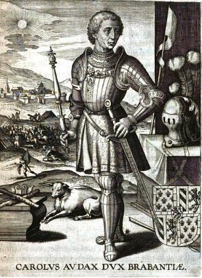 English: Charles the Bold