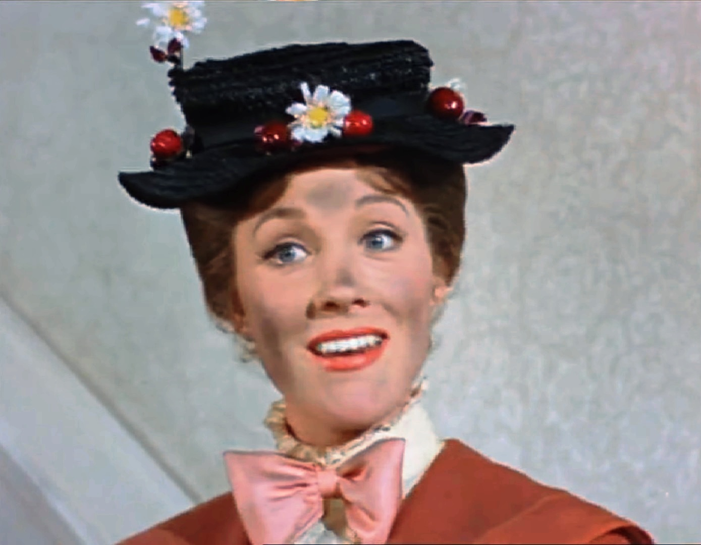 Julia Andrews as Mary Poppins