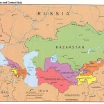 File The Caucasus And Central Asia Political Map Jpg Wikimedia Commons