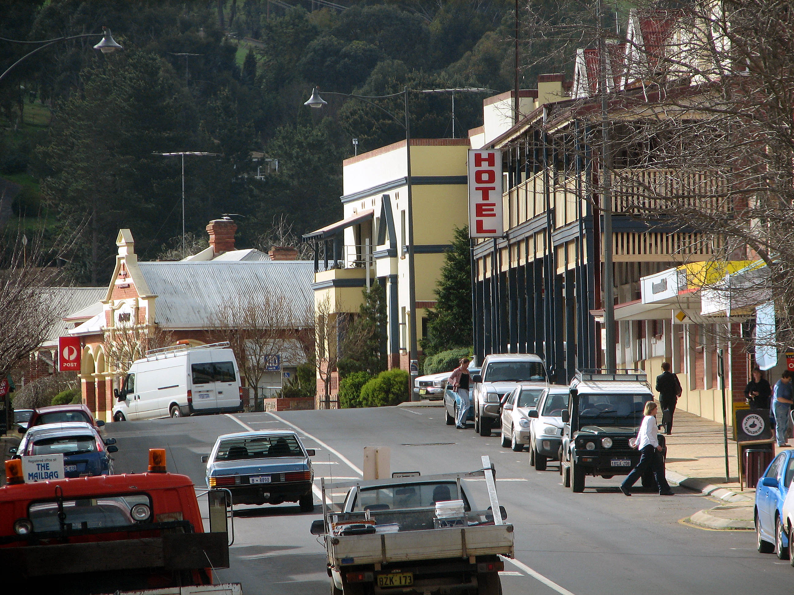 Main street of Bridgetown, Hampton Street