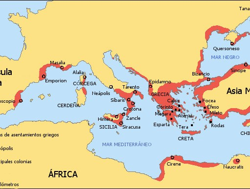 Greek Colonization Archaic Period-es