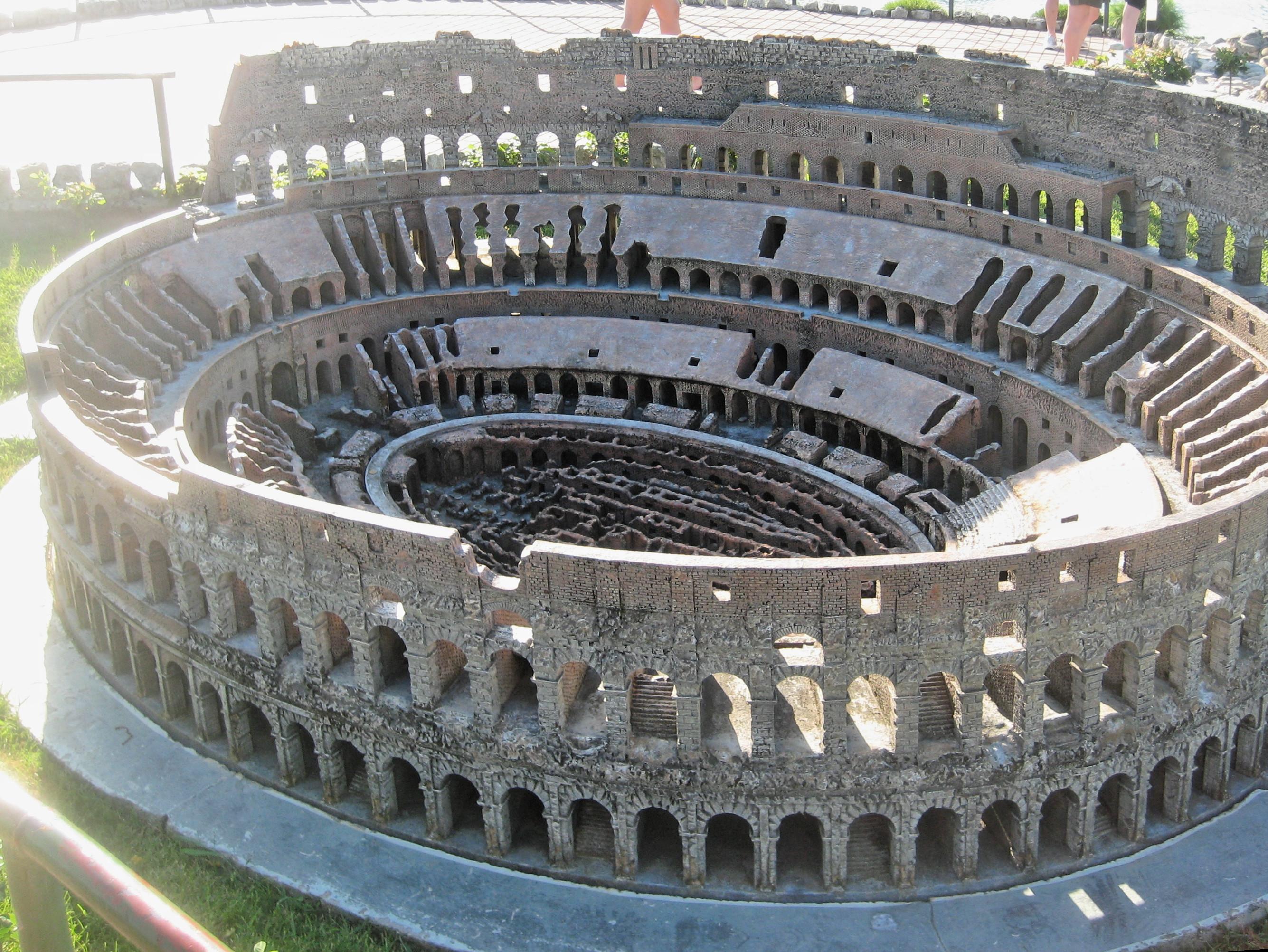 File Colosseum In Italia In Miniatura