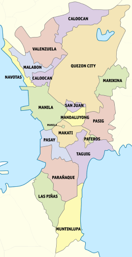 Outline Of Metro Manila Wikipedia