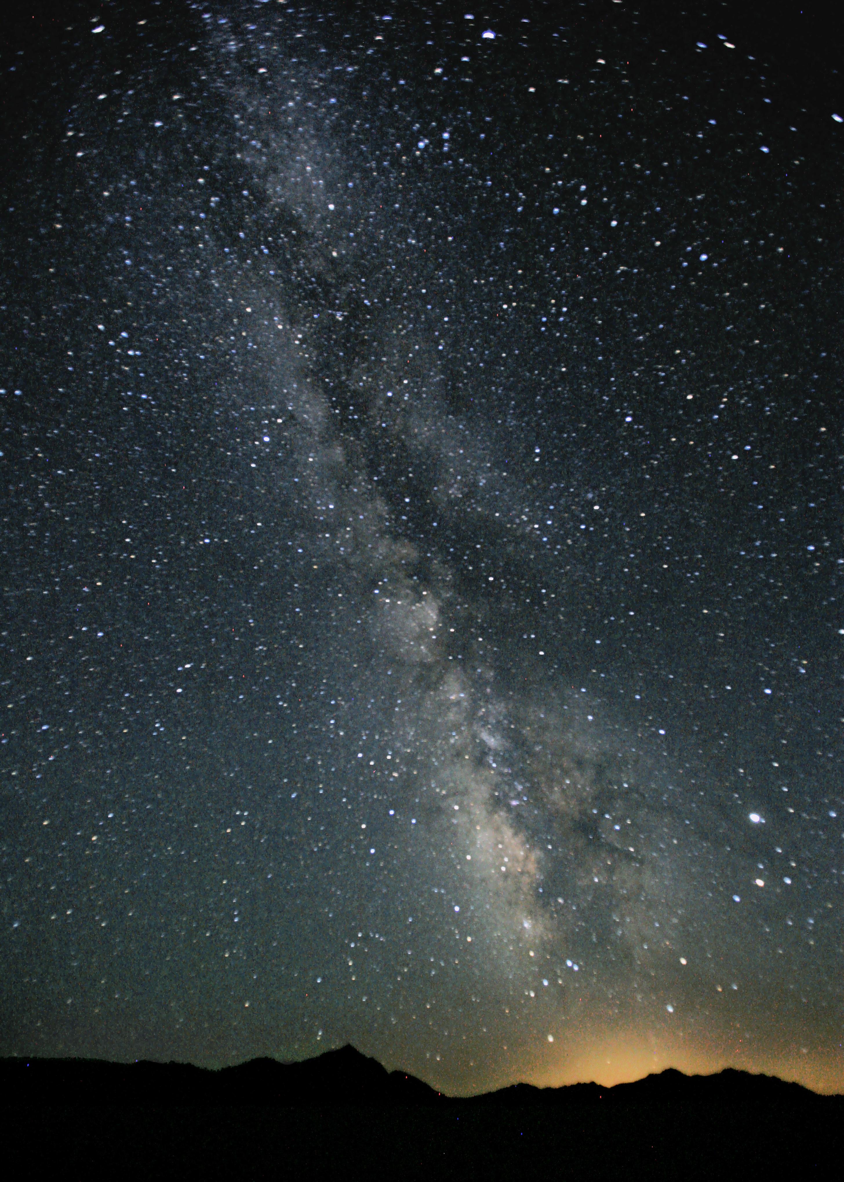 File Milky Way Night Sky Black Rock Desert Nevada