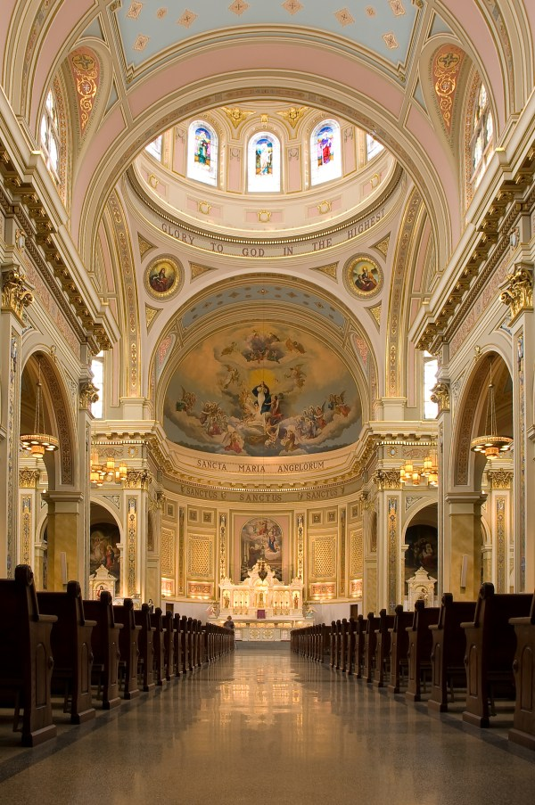 File:St Mary of the Angels interior 090307.jpg - Wikipedia