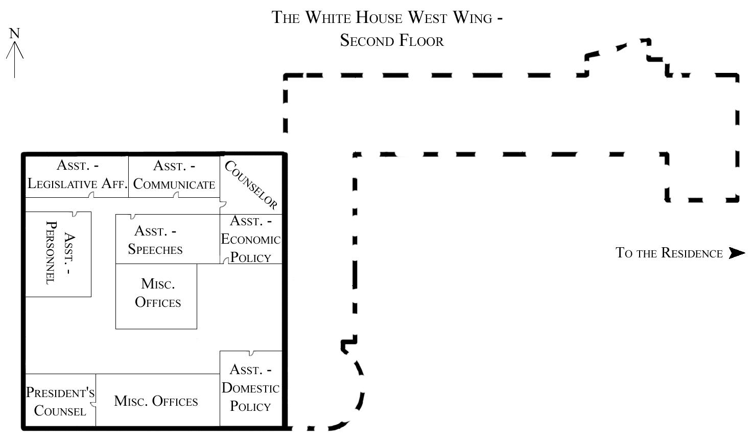 File West Wing 2nd Floor