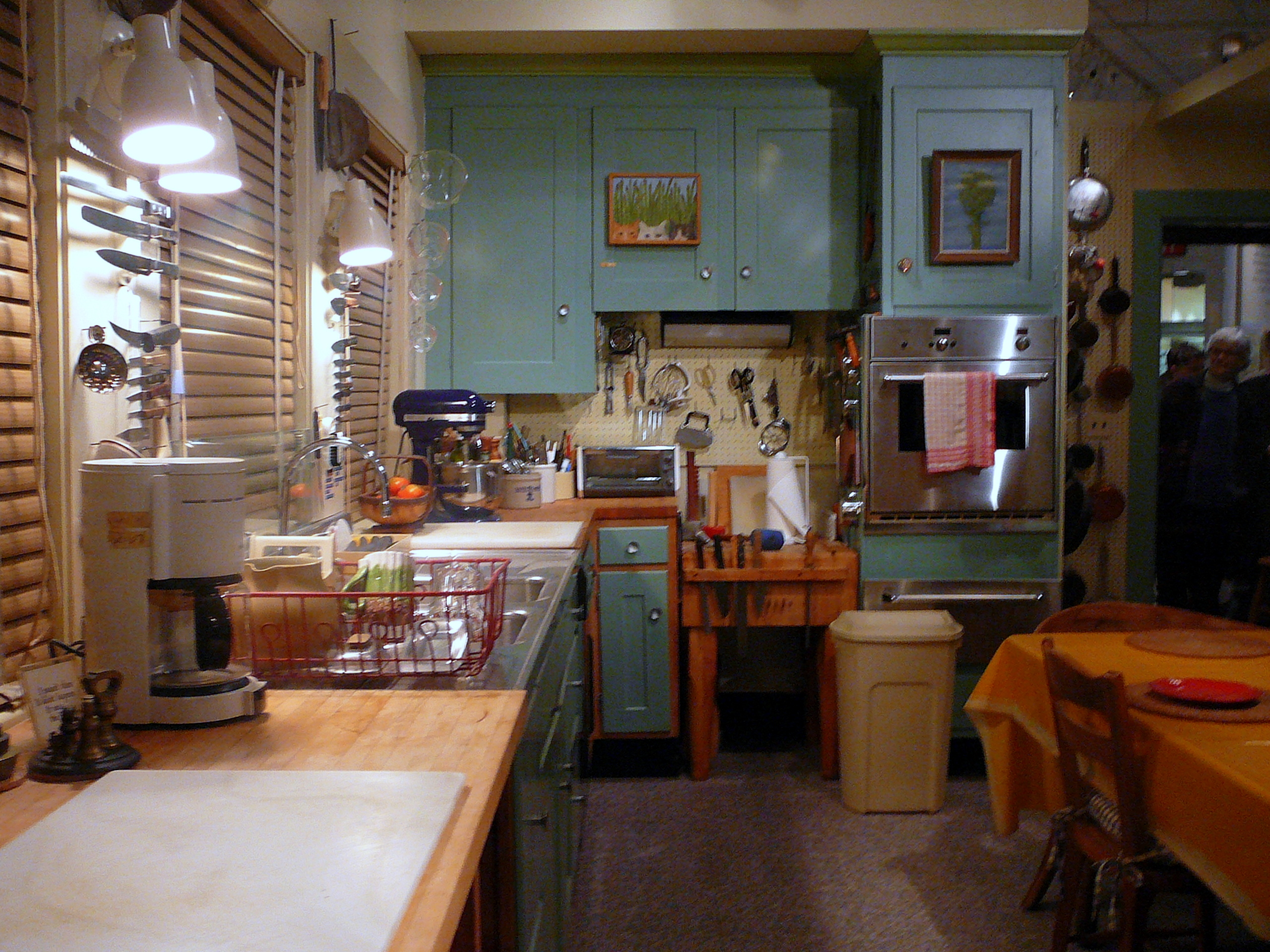 Julia Childs Kitchen at the Smithsonian