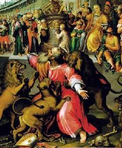 English: Martyrdom of St Ignatius of Antioch