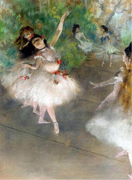 Edgar-Degas - Danseuses