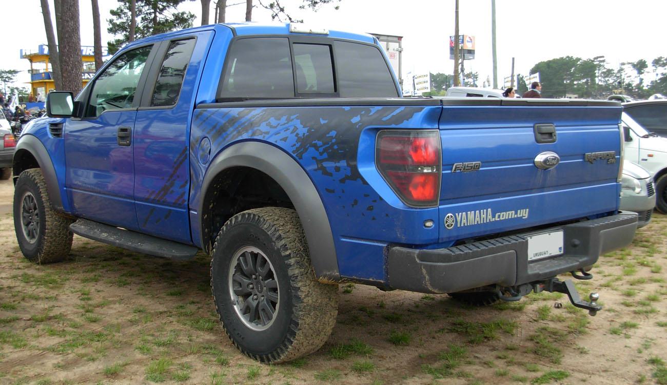 https commons wikimedia org wiki file ford f 150 raptor svt blue rear jpg