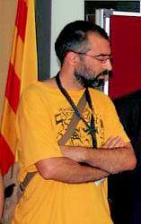 Català: Jordi Bilbeny durant la consulta d'Are...