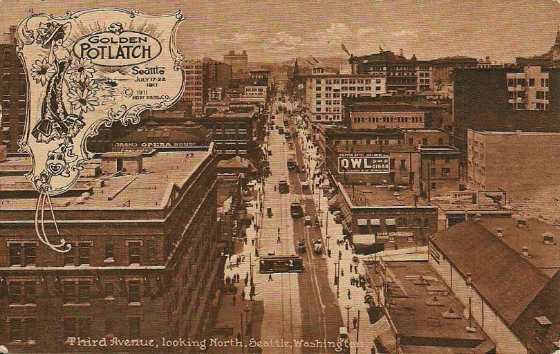 Seattle in 1911.